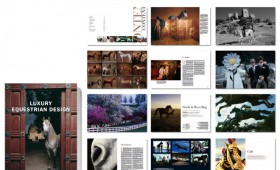 LUXURY EQUESTRIAN DESIGN / Buchlayout